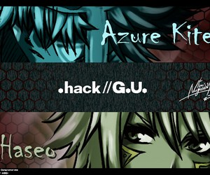 boys, hack, and haseo image