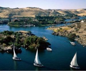 egypt, beautiful, and aswan image