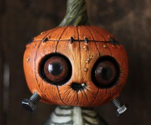 Halloween and citrouille image