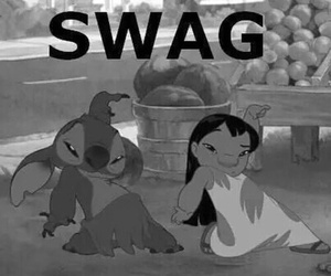 swag, stitch, and lilo image