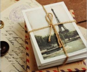 letters, trip, and paris image