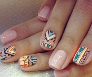 nails, ​uñas, and nailsart image