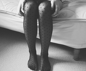 black and white and legs image