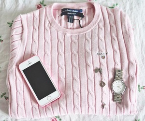 iphone, pink, and watch image