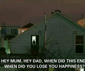 dad, mum, and broken home image