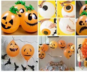 balloons, diy, and Halloween image