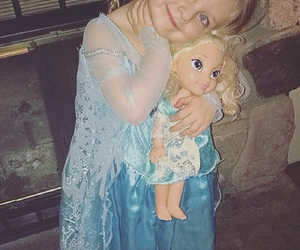 baby, costume, and frozen image