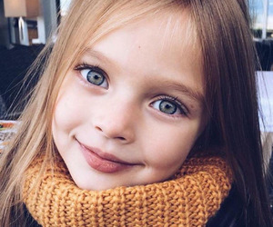 girl, kids, and eyes image