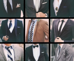 fashion, formal, and men image