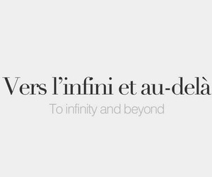 french, infinity, and quote image