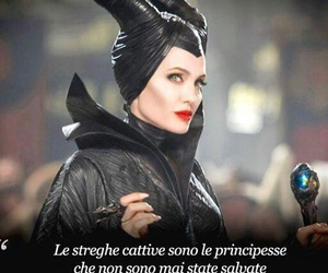 maleficent, witch, and Angelina Jolie image