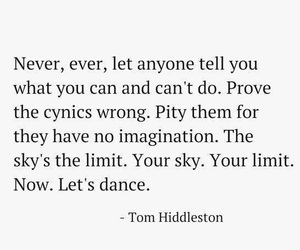 quotes and tom hiddleston image