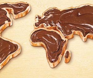 nutella, world, and chocolate image
