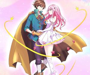 anime, manga, and guilty crown image