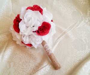 bouquet, etsy, and wedding flowers image