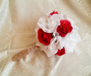 bouquet, etsy, and rustic image