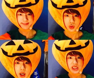 Halloween, bts, and jin image