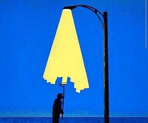 light, art, and illustration image