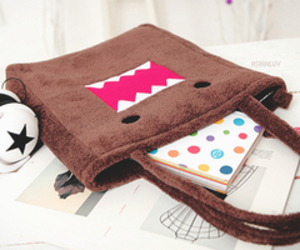 bag, domo, and cute image