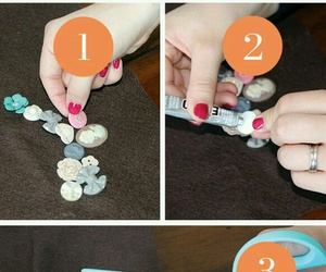 diy, button, and necklace image