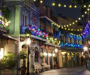 christmas, new orleans, and winter image