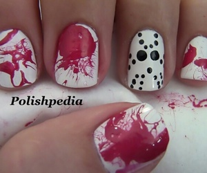 chainsaw, Halloween, and nails image