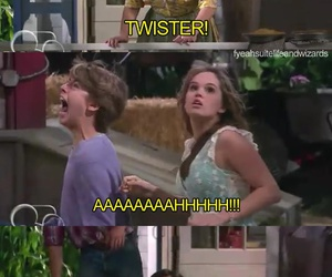 funny, twister, and london tipton image