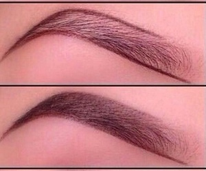 eyebrow, tutorial, and eyebrows image