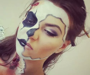 halloween make up crazy image