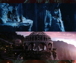 the hobbit, 💜, and rivendell image