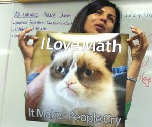 funny, math, and teacher image