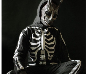 bunny costume, costume, and donnie darko image