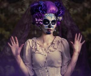 catrina, halloween costume, and dizfrás de catrina image