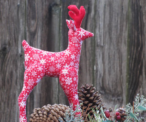christmas, etsy, and reindeer image