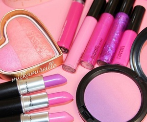 cosmetics, glamour, and lips image