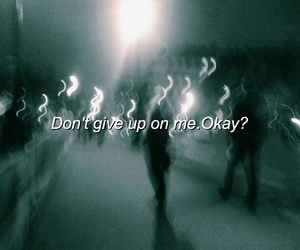 grunge, dark, and give up image