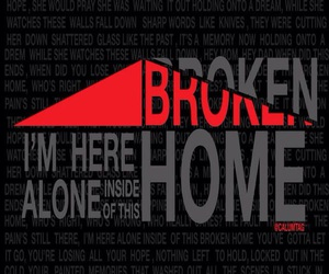 broken home and 5sos image