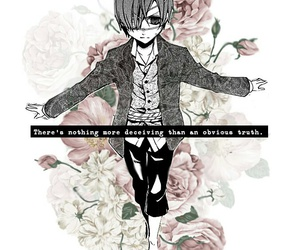 beautiful, black butler, and boy image