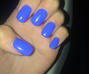 beautiful, nails, and blue image