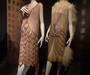 1920s, clothes, and dresses image