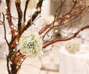 lights, snow, and winter wonderland image