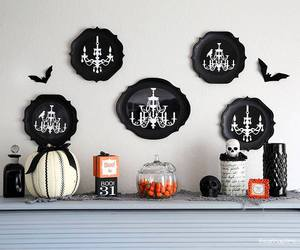 black, decoration, and fancy image