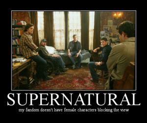 adam, dean winchester, and bobby singer image