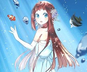 nagi no asukara, anime, and sea image