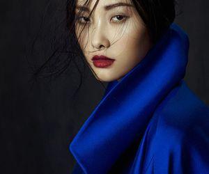 asian, model, and honey skin tone image