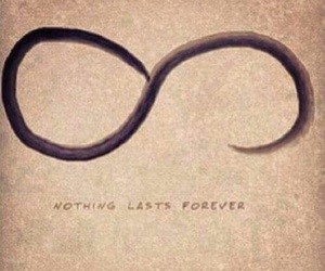 forever, nothing, and infinity image