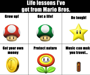life lessons and mario image