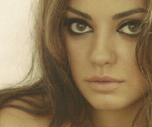 Mila Kunis, hair, and photography image