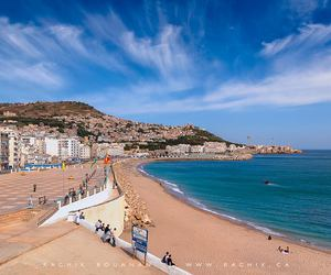 plage, sea, and alger image