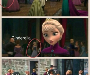 frozen, disney, and cinderella image